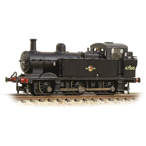 Graham Farish 372-212A Class 3F Jinty 0-6-0T 47500 in BR black with late crest