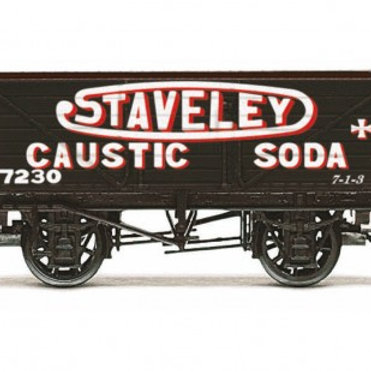 Hornby R6811 7 Plank Wagon Staveley