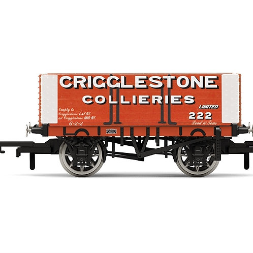 Hornby R6949 6-plank open wagon Crigglestone Collieries No. 222