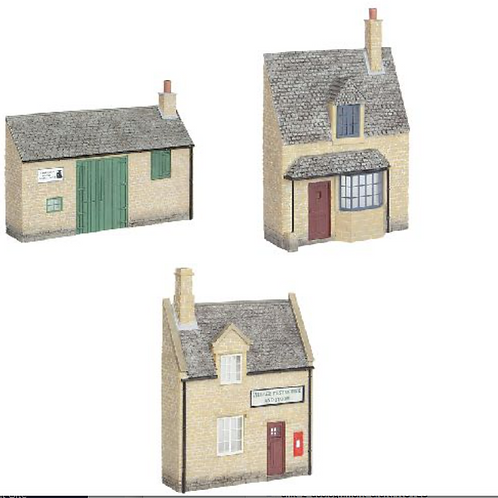 Scenecraft Low Relief Honey Stone building pack