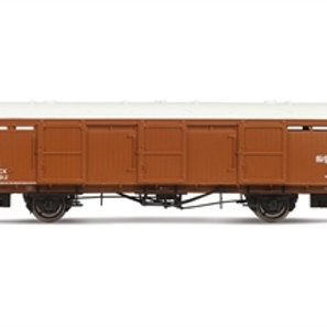 Hornby R6969 Extra long CCT Van 1292 in LNER brown - Due May-21