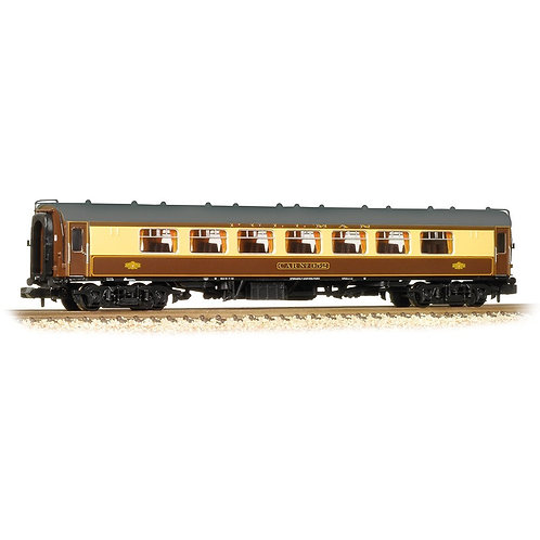 Graham Farish 374-202 Mk1 FP Pullman First parlour car 'Ruby' in umber and cream