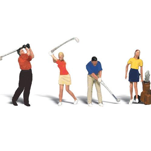 00 Gauge Figures Golfers