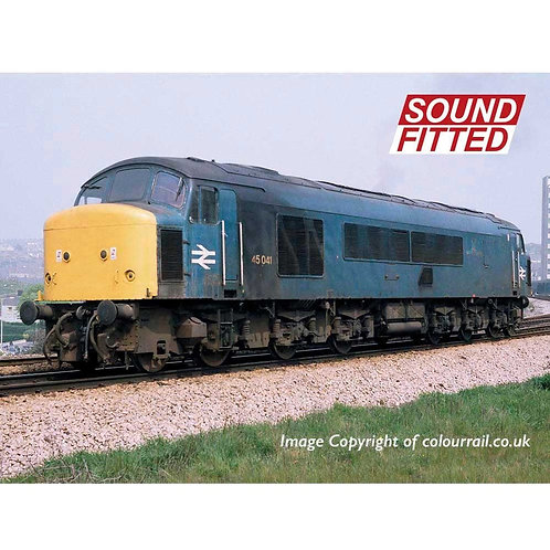 "Bachman 32-685SD Class 45/0 45041 ""Royal Tank Regiment"" BR Blue Sound Fitted"