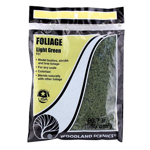 Woodland Scenics F51Light Green Foliage