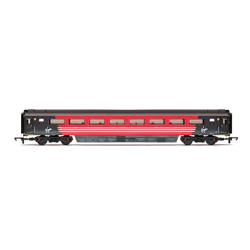 Hornby R4858 Virgin Trains Mk3 Trailer Standard Open (TSO)12132