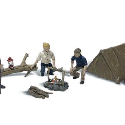N Gauge Figures Campers