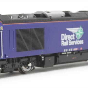 Dapol 2D-022-010 Class 68 68026 in Direct Rail Services plain blue
