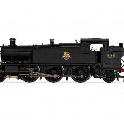 Hornby R3723X Class 61xx 'Large Prairie' 2-6-2T 6145 in BR black with ear