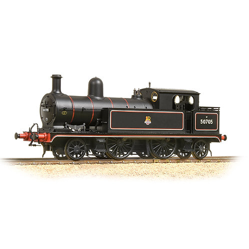 Bachmann 31-169 L&YR 2-4-2 Tank 50705 BR Lined Early Crest