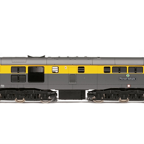 Hornby R3880 Class 31 31147 'Floreat Salopia' in Civil Engineers grey and yellow