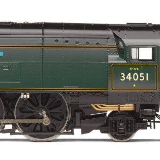 R3866 Hornby Battle of Britain 4-6-2 Steam Loco number 34051
