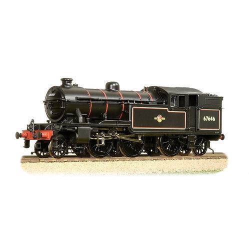 Bachmann 31-614 V3 Tank 67646 BR Lined Black Late Crest