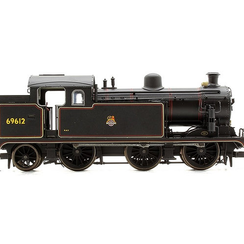 Oxford Rail OR76N7003 Class N7 0-6-2T 69612 in BR black with early emblem