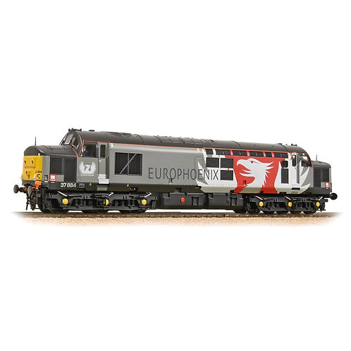 Bachmann 32-393DS Class 37/7 37884 in Europhoenix livery - DCC sound