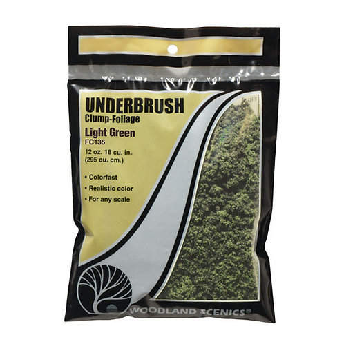 Woodland Scenics FC135 Underbrush Light Green