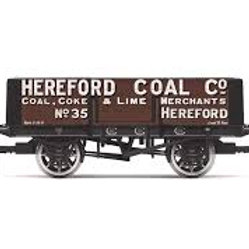 """Hornby R6901 5-plank open wagon """"Hereford Coal Company"""""""