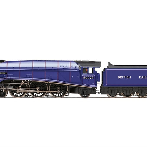 """Hornby R3701 Class A4 4-6-2 60028 """"Walter K Whigham"""" in BR experimental purple"""