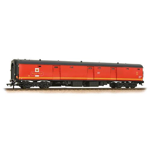 Bachmann 39-750 Mk1 TPO stowage van 80424 in Travelling Post Office Red(EWS)