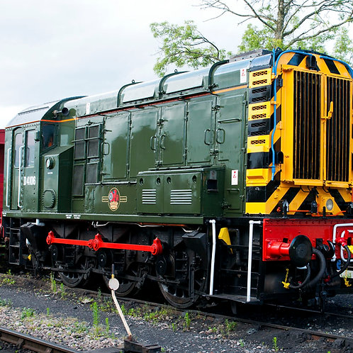 Gaugemaster GM7210201 Class 09 D4106 BR Green (As Preserved)