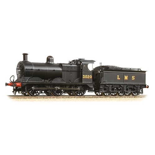 Bachmann 31-627B Class 3F  3520 LMS Black Deeley Tender
