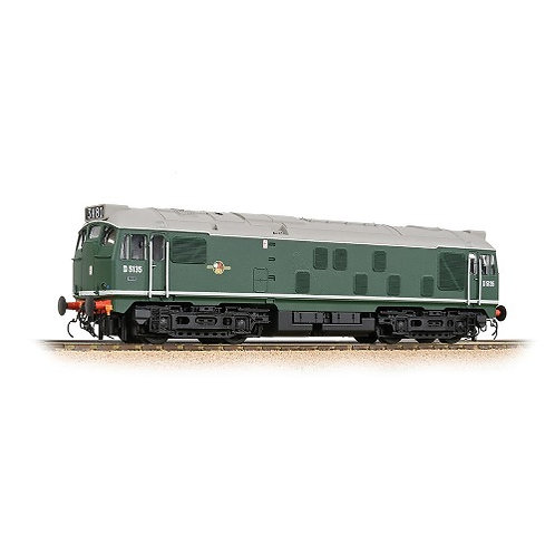 Bachmann 32-440 Class 24/1 D5135 BR Green (Late Crest)