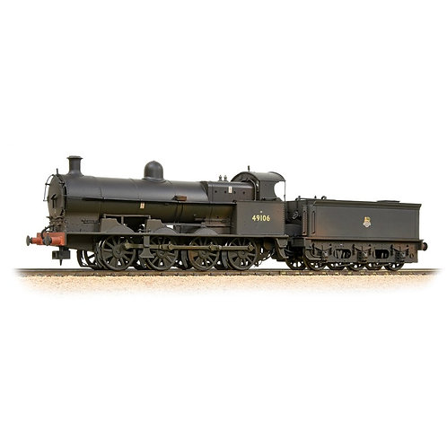 Bachmann 31-481 G2A 49106 BR black Early Crest (Weathered)
