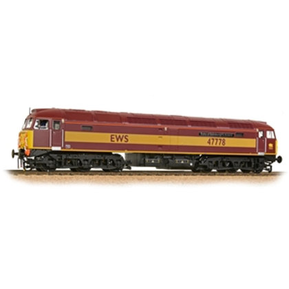 Class 47 47778 'Duke of Edinburgh's Award' EWS