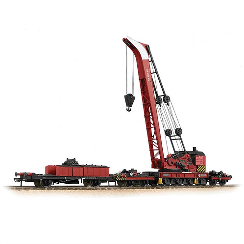 Bachmann 38-803 45-ton Ransomes and Rapier crane in BR red