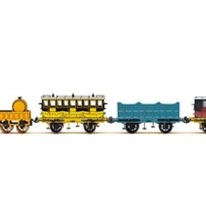 Hornby R3956 L&MR, Stephenson's Rocket Royal Mail Train Pack - Era 1