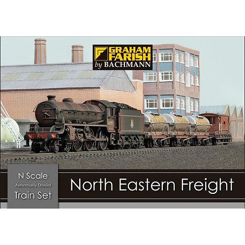 Graham Farish 370-090 North Eastern Freight train set