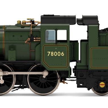 R3982 Hornby BR Standard Class 2MT 2-6-0 Steam Loco number 78006