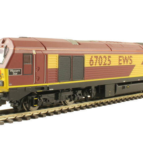 EWS, Class 67, Bo-Bo, 67025 'Western Star' - Era 10