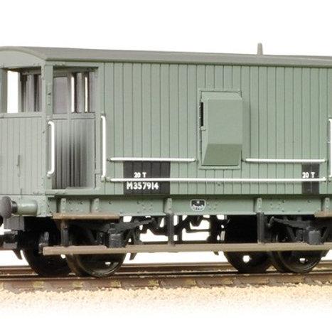Bachmann Branchline 38-550A Midland 20T brake van M357897 in BR Grey
