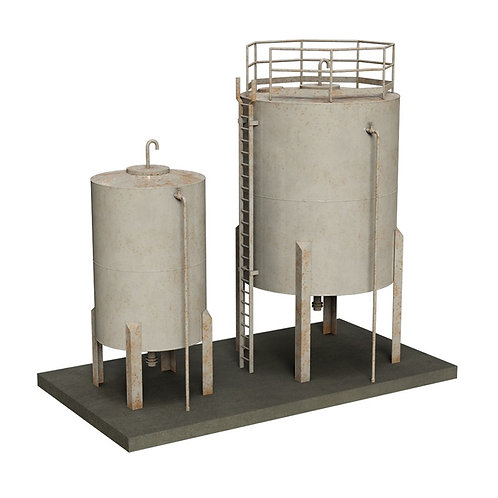 Scenecraft 44-0110 Depot Storage Tanks
