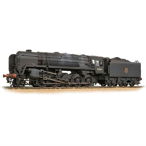 Bachmann 32-852A Class 9F 2-10-0 92069 in BR black with early emblem (weathered)