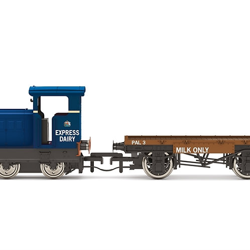 Hornby R3943 Ruston 48DS 235511 in Express Dairy Co. Ltd blue