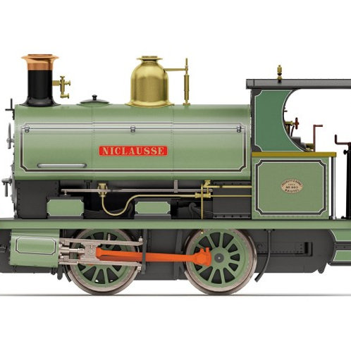 "Hornby R3640 Class W4 Peckett 0-4-0ST 882 ""Niclausse"" in Peckett works green"