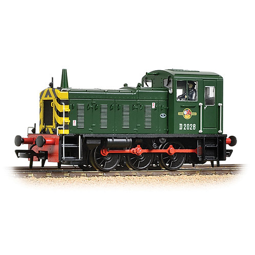 Bachmann Branchline 31-361B Class 03 D2028 in BR green with wasp stripes