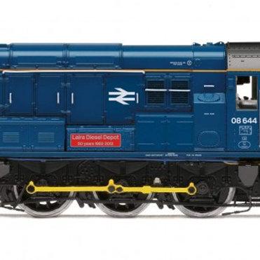 """R3485 Class 08 """"Laira Diesel Depot"""" BR Blue"""