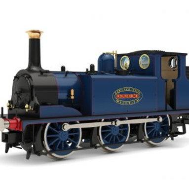 """Hornby R3781 Class A1 Terrier 0-6-0T 5 """"Rolvenden"""" KESR Blue"""