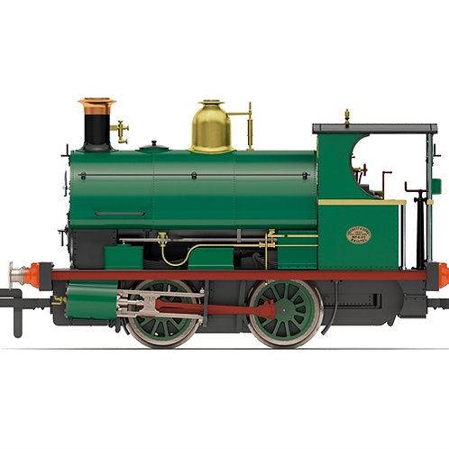 Hornby R3868 Class W4 Peckett 0-4-0ST 490/1890 in Crawshay Brothers green
