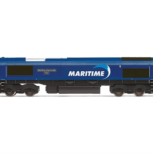 Hornby R3887 Class 66 66047 'Maritime Intermodal Two' in DB Cargo/Maritime liver