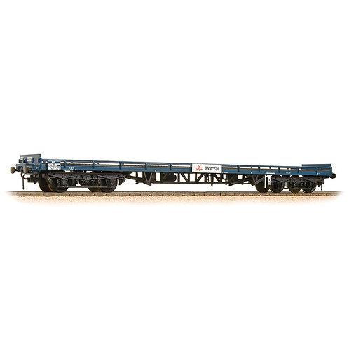 Bachmann Branchline 38-902 BR Mk1 carflat wagon in BR blue (MotoRail)