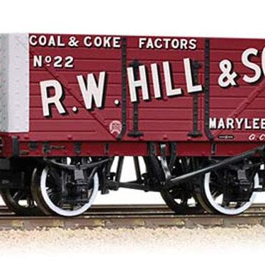 37-162 8 Plank Wagon RW Hill & Son