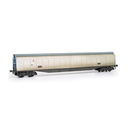 Cargowaggon 279-7-604-6 Silver & Blue Unbranded - Weathered