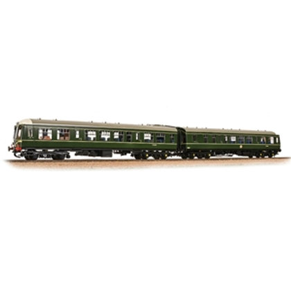 Class 108 2-Car DMU BR Green (Speed Whiskers)