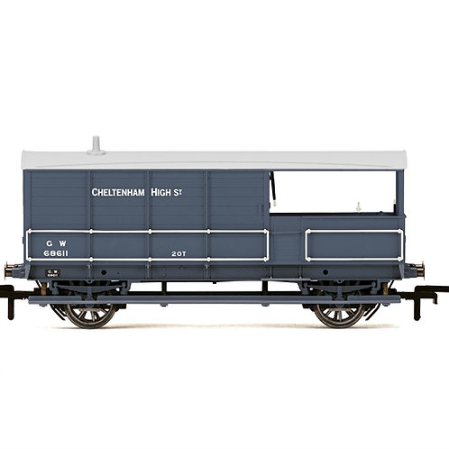 Hornby R6940 GWR AA15 Toad 20 ton brake van 68611 in GWR grey