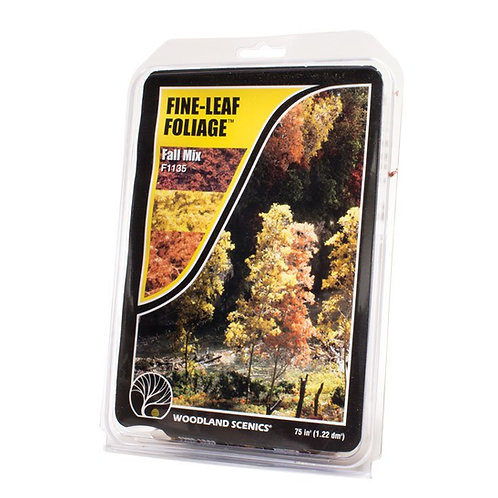 Woodland Scenics Fine Leaf Foliage F1135 Fall Mix
