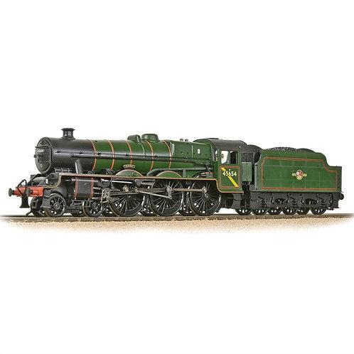 Bachmann 31-186ASF Class 6P 'Jubilee' 4-6-0 45654 'Hood' BR green (late) SOUND